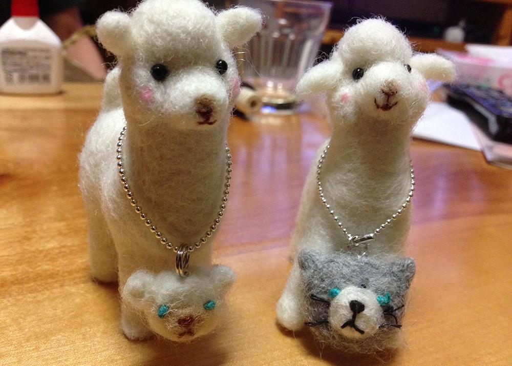 羊毛フェルト-アルパカ編