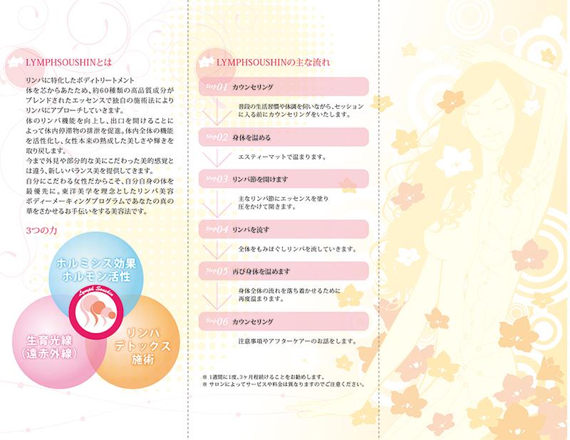 LYMPHSOUSHIN/リーフレット/中/2010