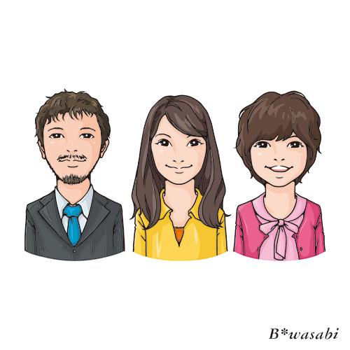 某カタログ似顔絵/2012