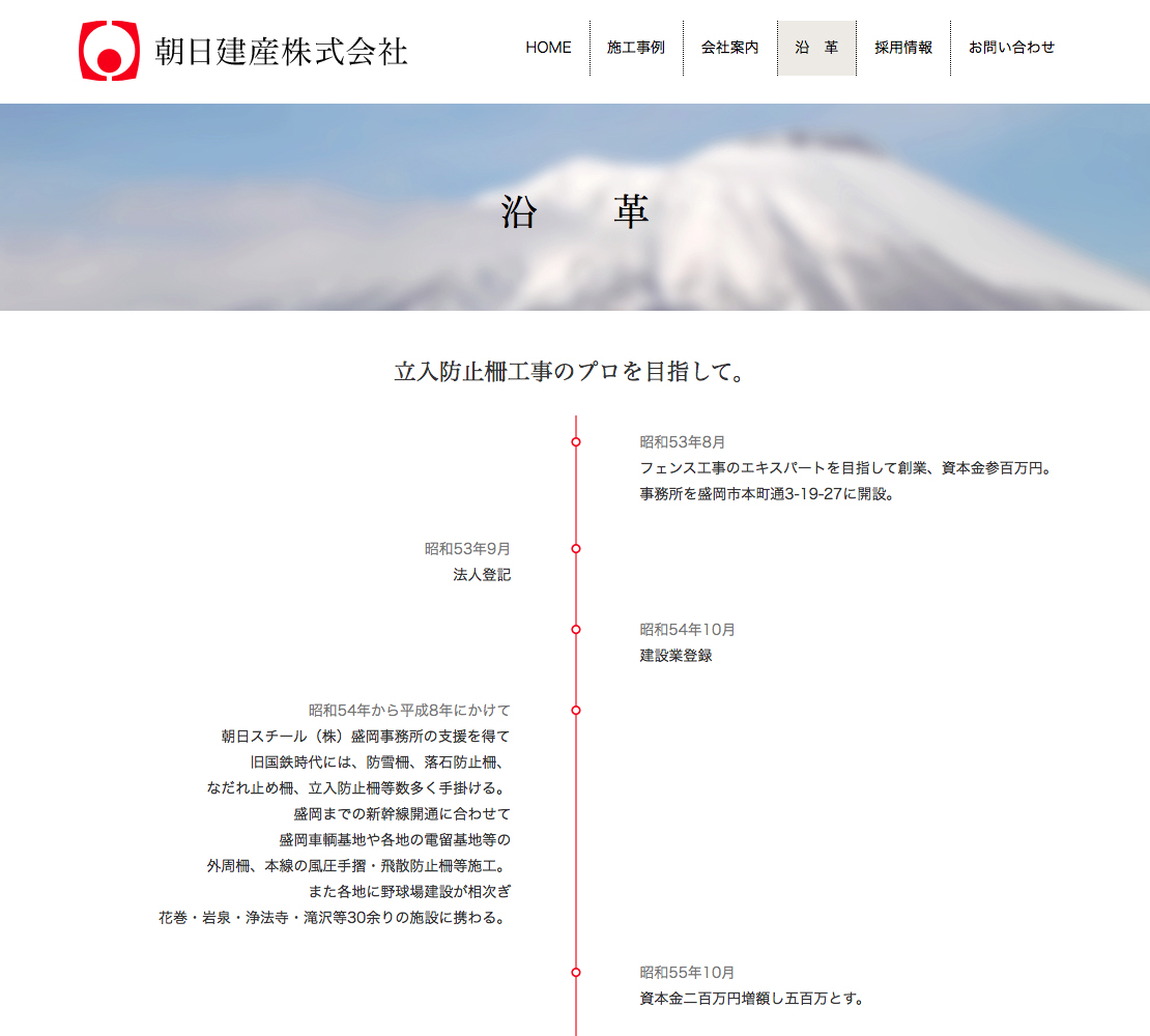 朝日建産/沿革/2014